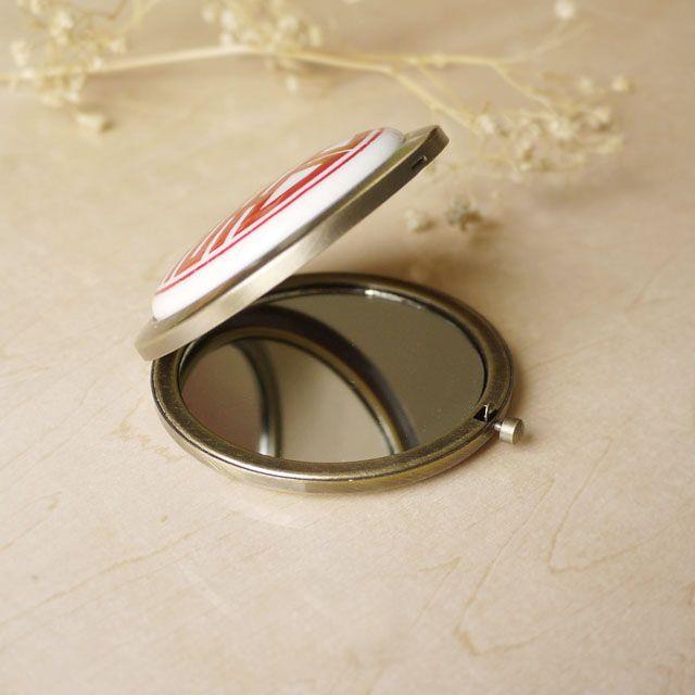 Зеркало из керамики ручной работы mio-mio-ceramics