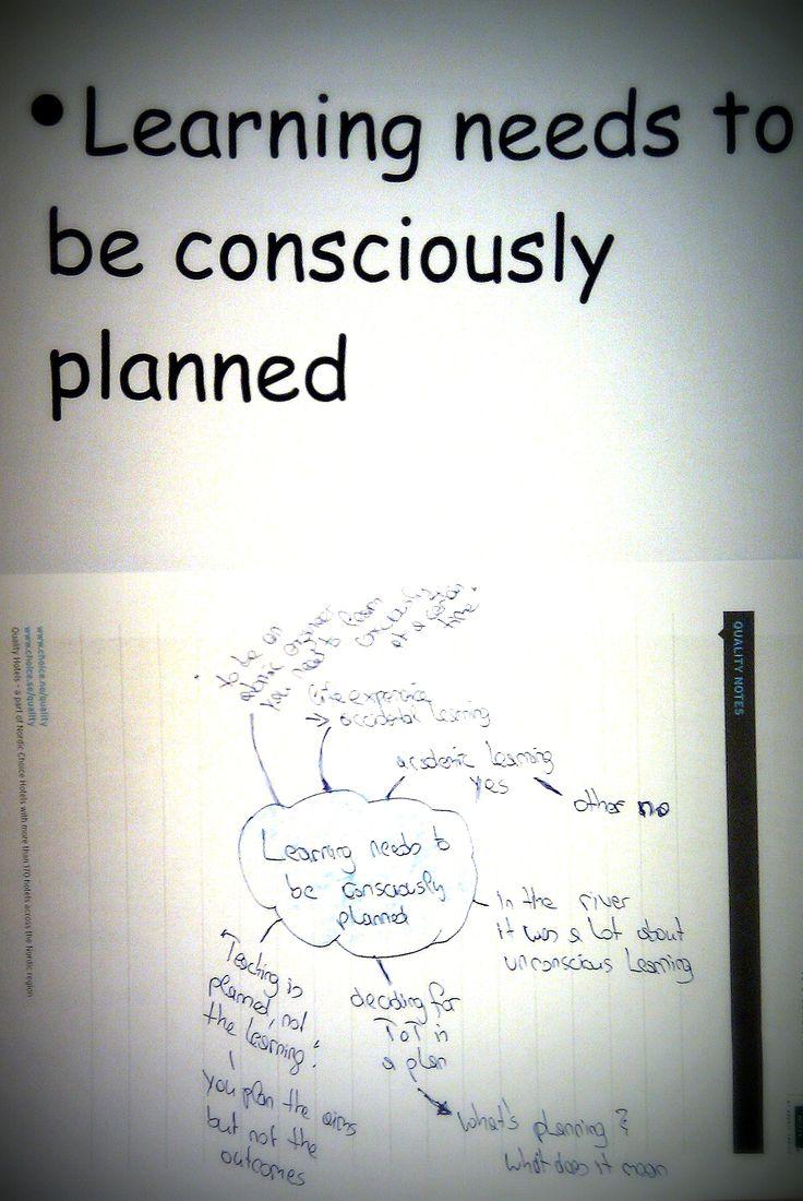 planning?