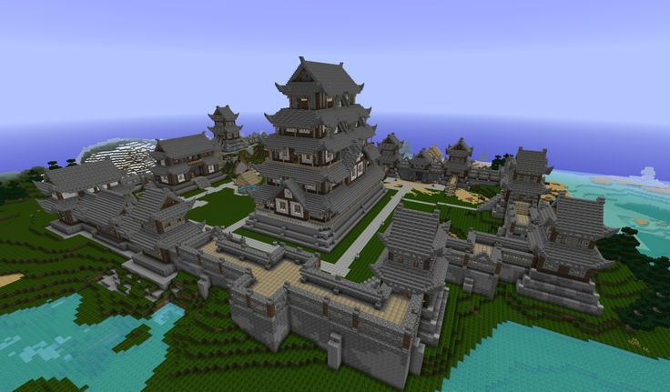 japanese castle minecraft i want to build this minecraft addiction pinterest minecraft projects castles and japanese
