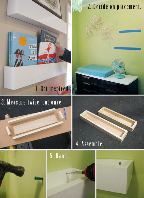 http://www.chiccheapnursery.com/2010/do-it-yourself/diy-how-to-make-hanging-box-shelves/