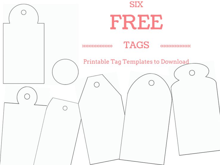 gift tags template