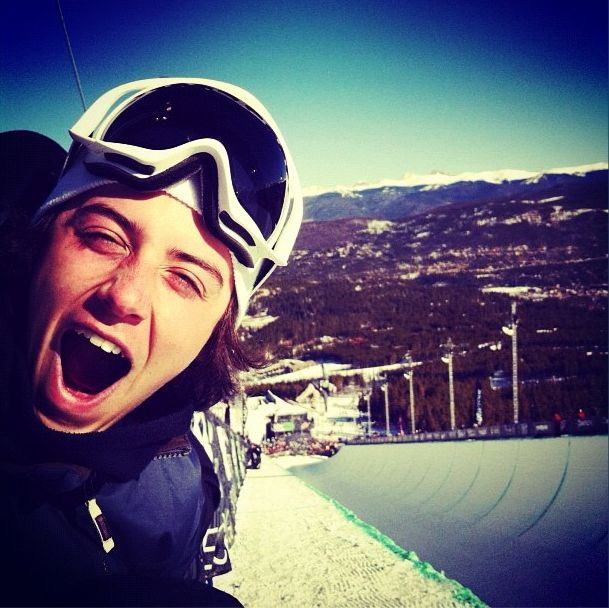 Mark McMorris....a force to be reckoned with at Sochi!  This young Canadian will give everyone a run for their gold medal!