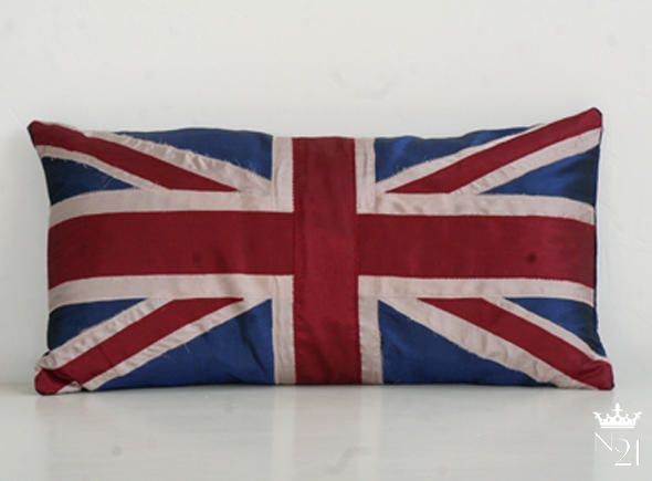 MARKS AND SPENCER // UNION JACK CUSHIONS