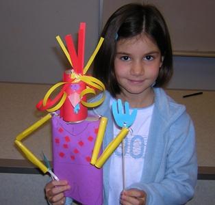 Puppet making workshops - rod puppet making - shadow puppet making - large puppet making