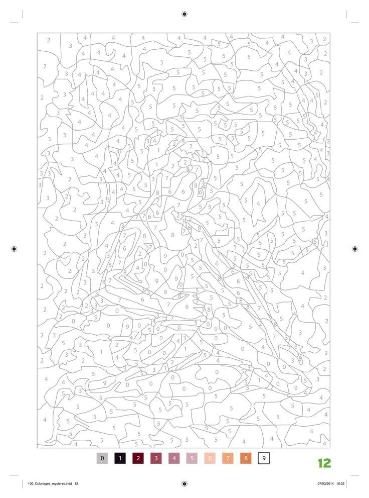 Amazon.fr - 100 Coloriages mystères: Art-thérapie - Jérémy Mariez - Livres