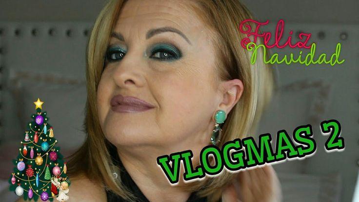 VLOGMAS 2 Maquillaje Verde Navidad | ArinuCosmetics