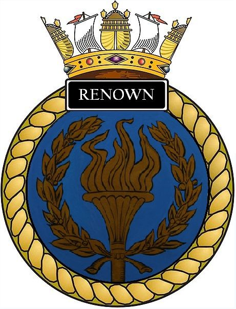 Ships_crest_of_HMS_Renown_(S26).jpg (461×604)