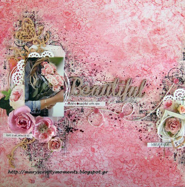 Mary's Crafty Moments: Beautiful