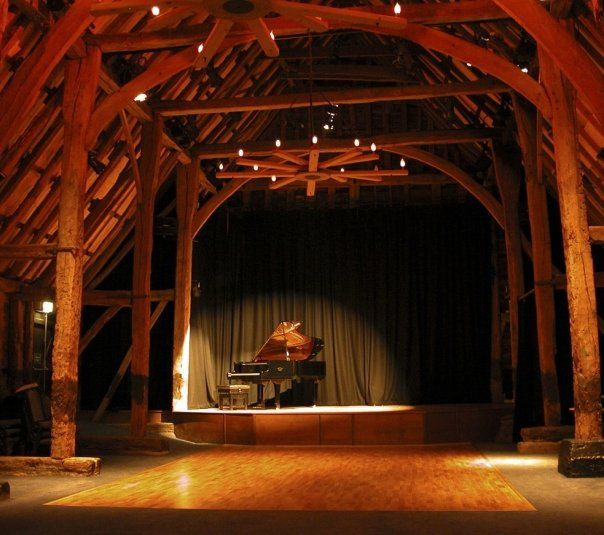 renovated barn as concert / music venue