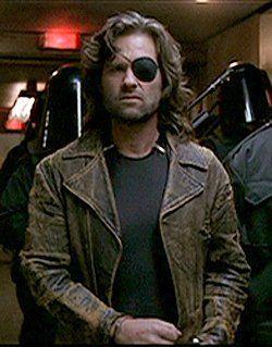 $190.00 - Escape From LA Snake Plissken Leather Jacket