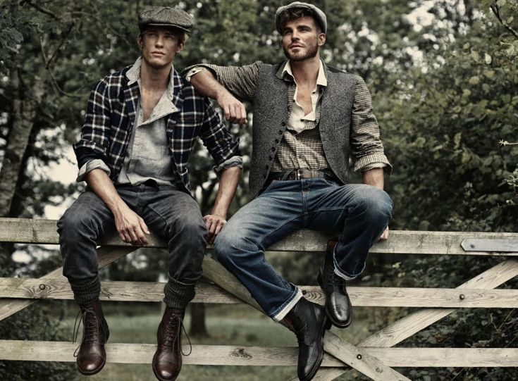 The Guy in the Mission and Beyond: Country Fashion - Chris Doe, Oliver Cheshire & Ashley Radcliff by Charl Marais