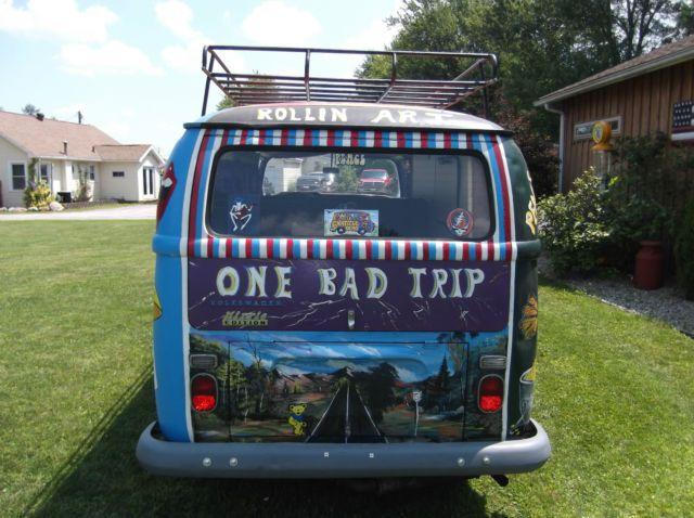 1969 Volkswagen Westfalia Bus Camper Hippie Custom Surf Van