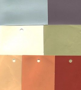 Spanish Style Paint Color Combinations | put together this color grouping of benjamin moore paint colors for ...