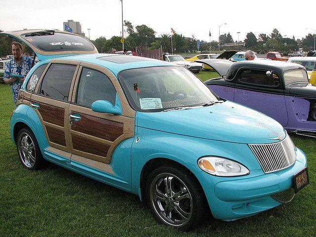 2002 Chrysler Pt Cruiser 2 3 Woody Custom Imperial Cars