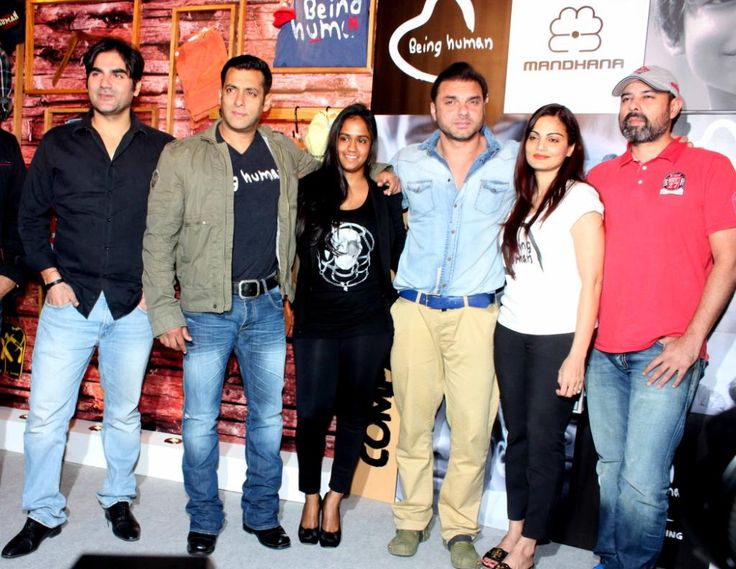 Salman Khan @ 'Being Human' Store Launch