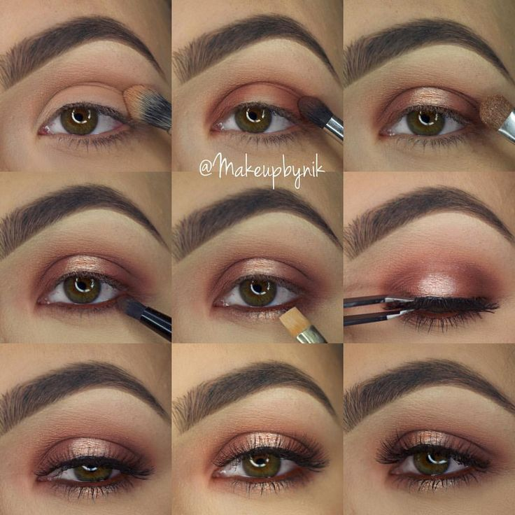 "Nikki Libra on Instagram: ""Step by step using @morphebrushes 35O Palette❤️ The shadows in my crease the neutral shadow on the top row (3rd in from left) I used the matte warm shades and focused that on the outer and inner lid and also under the eye The shimmer on the center of the upper and lower lid is on the 3rd row down 2nd in from left I used @toofaced Glitter Glue to give it a stronger appearance and adhere the glitter texture Lashes are @ardell_lashes Wispies Liner in waterline is…"
