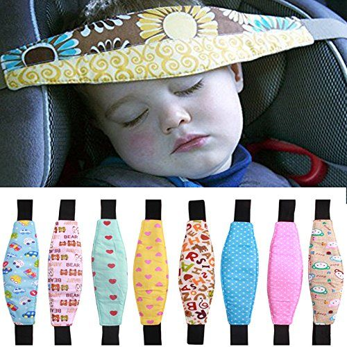 Car Safety Seat Sleep Positioner Infants And Baby Head Support Pram Stroller Fastening Belt Adjustable - $10.23
