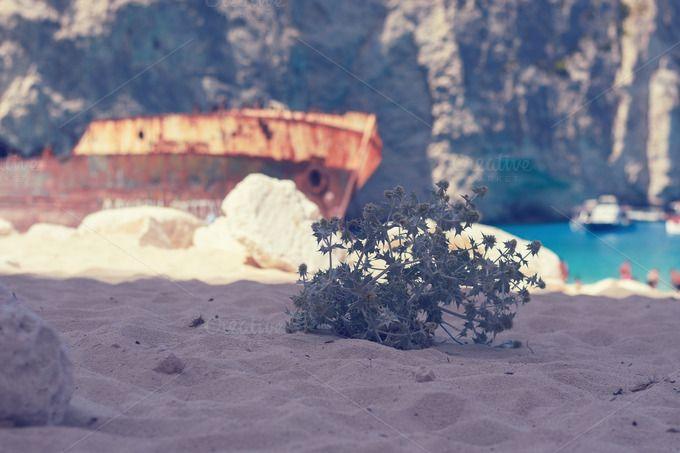 Shipwreck Beach by DreamstaleStock on @creativemarket