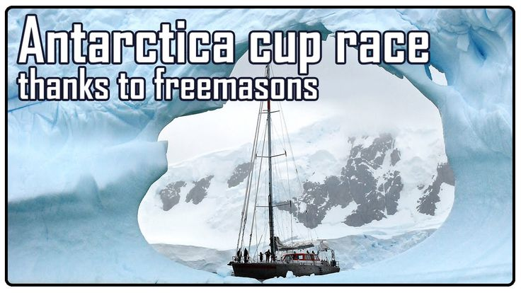 Flat earth The Antarctica Cup (supported by Freemasons)
