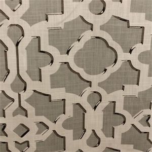 This is a beautiful grey contemporary drapery fabric. This fabric is perfect for any home decorating project.v134DHF
