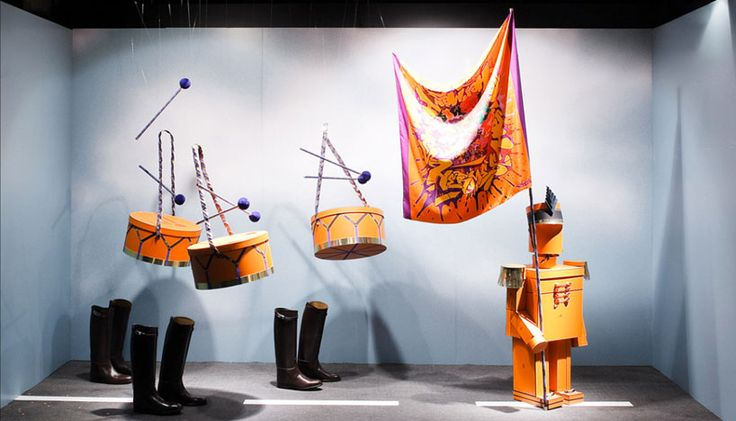 sarah illenberger: hermès shop windows