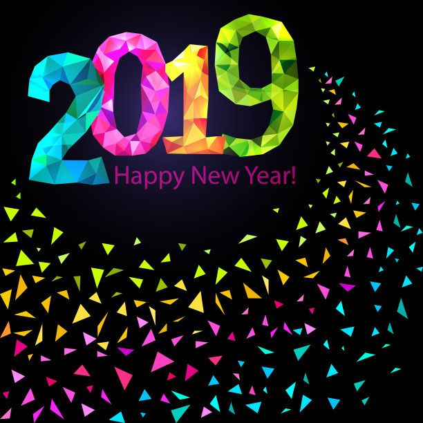happy new year 2019 background image