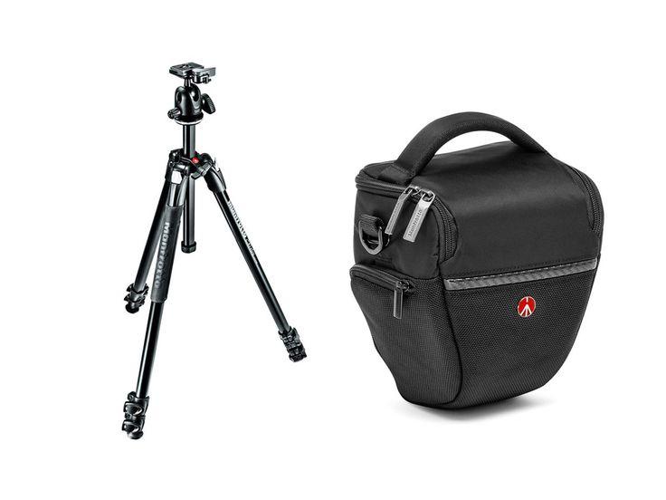 Nu med Manfrotto Advanced Holsterkameraväska på köpet!290 Xtra ger stabilitet till dig som hobbyfotograf