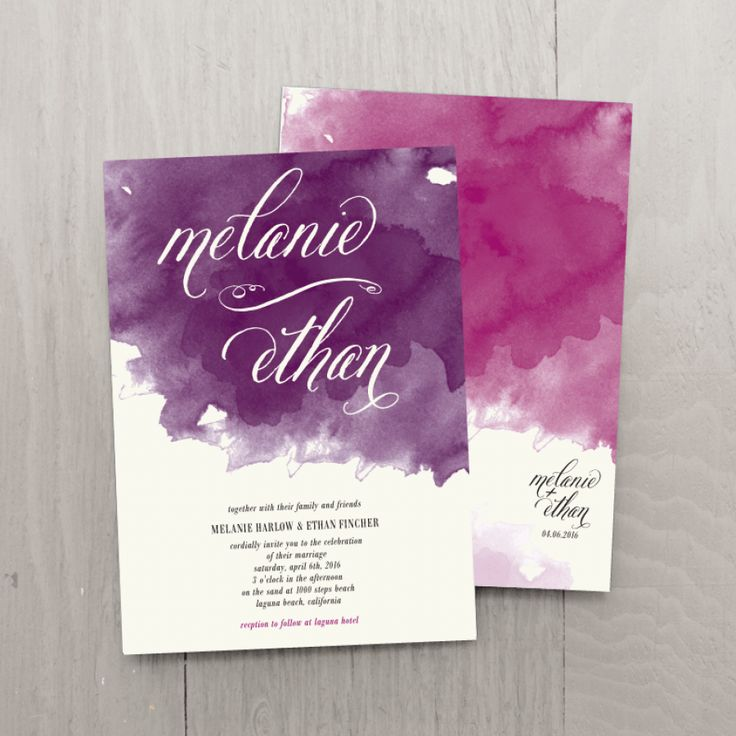 Day Dream Wedding Invitations - Wedding Invitations - Wedding | Smitten on Paper    GORGEOUS.