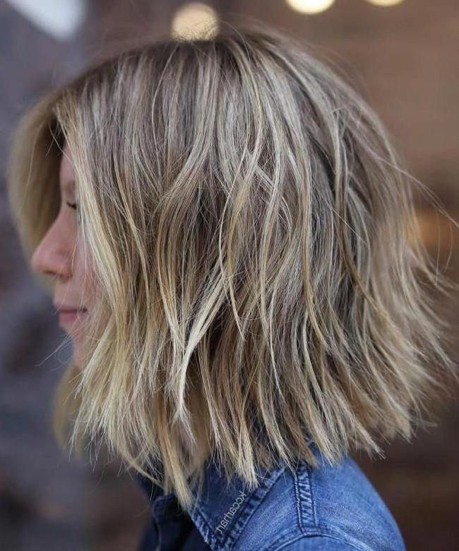 37 Short Choppy Layered Haircuts – Messy Bob Hairstyles Trends for Autumn/Winter 2019–2020 – Short Bob Cuts #cutebobhairstyles