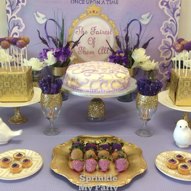 Purple Wedding Dessert Table: 10 Best Purple And Gold Sweets Table Images On Pinterest