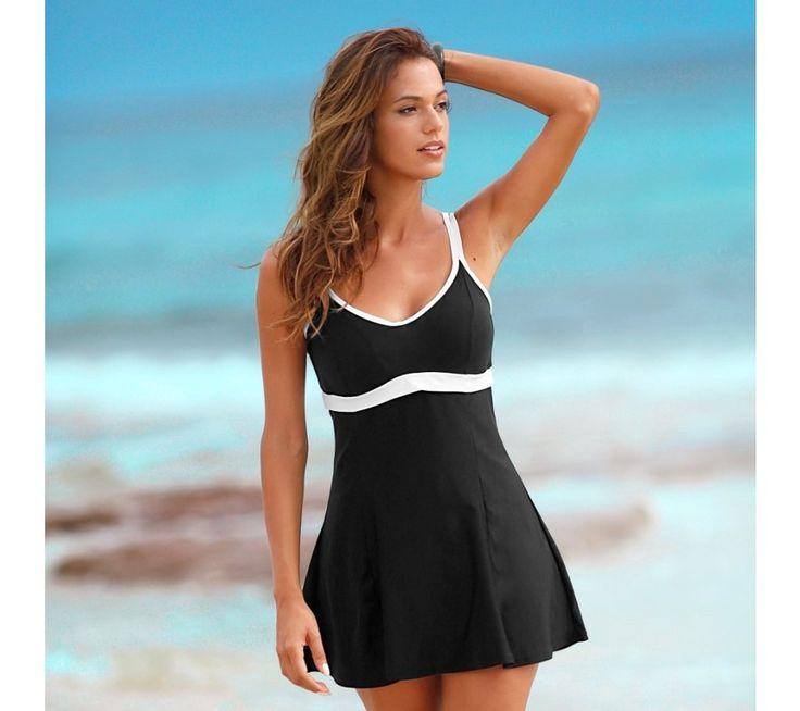 Jednodílné plavky se sukénkou | blancheporte.cz #blancheporte #blancheporteCZ #blancheporte_cz #swimsuit