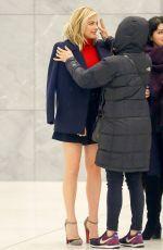 Chloe Moretz was seen as she leaving SiriusXM Radio in New York City