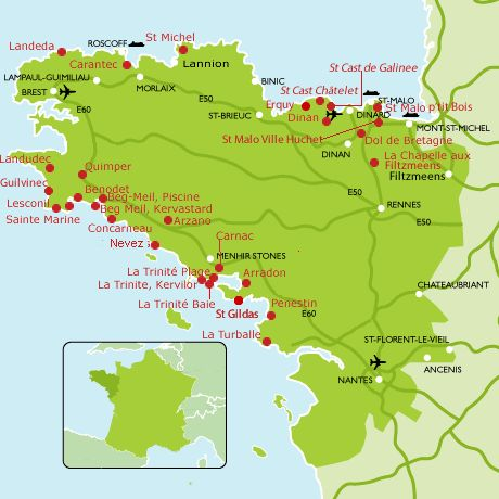 Discover your perfect campsite in  Brittany, France - Camping in Brittany, France - Campsites in Brittany, France