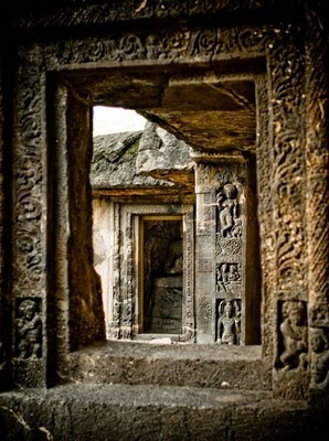 Ellora Caves, Maharashtra, India