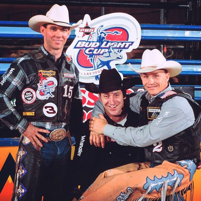 Jim Sharp, Jerome Davis and Ty Murray 2001 BFTS event