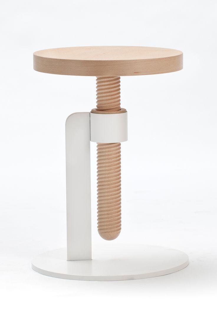 Simple Table Design modern table in simple design Coup De Cur Le Tabouret Rglable Par Carlo Contin