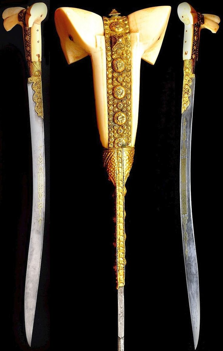 Ottoman yatagan / yataghan.