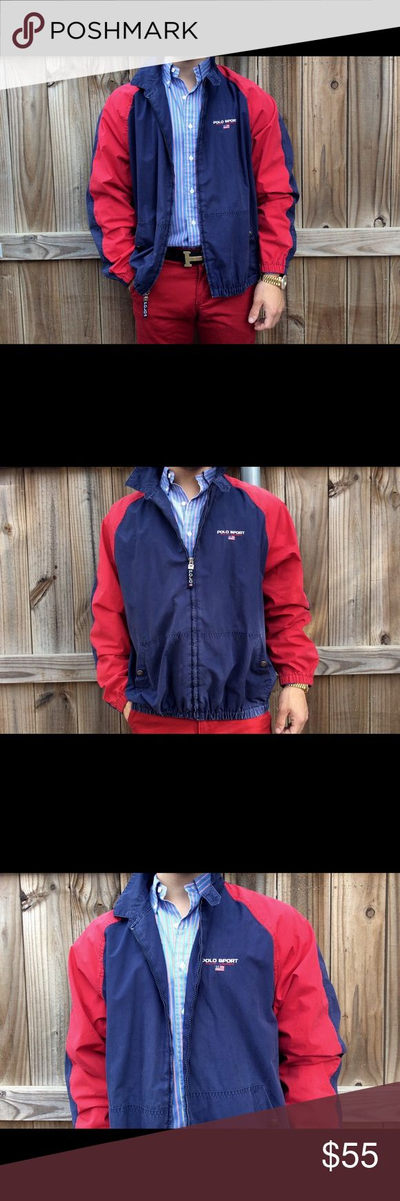 Polo Sport Ralph Lauren Jacket Medium Vintage Coat Polo Sport full zip Bomber jacket in men's size medium. Very well kept Condition Polo by Ralph Lauren Jackets & Coats Bomber & Varsity