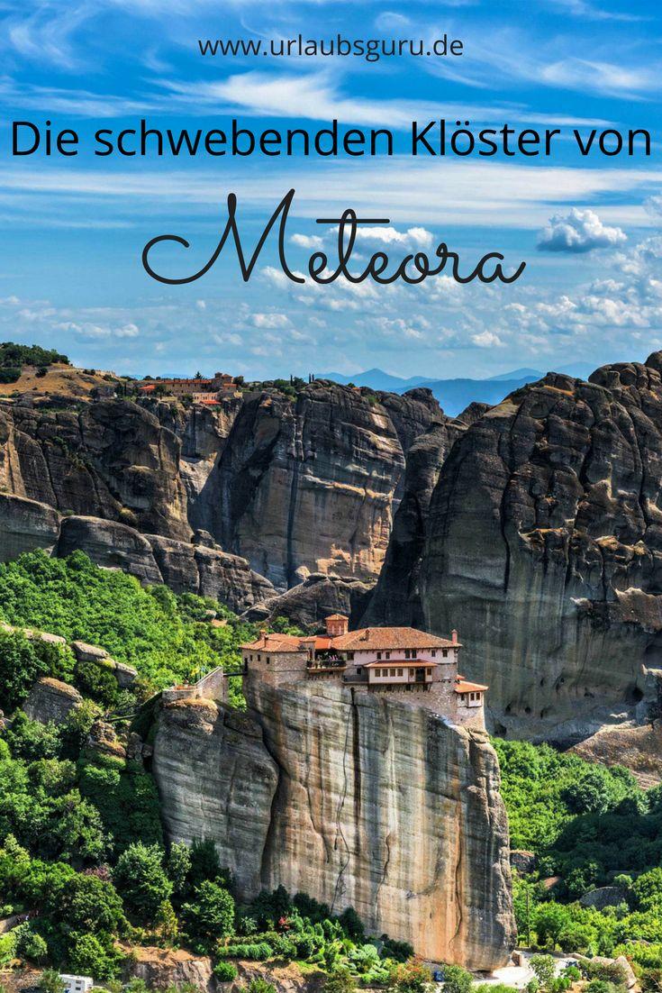 Mitten im Herzen von Griechenland gelegen, östlich des Pindos-Gebirges und am Rande der kleinen Stadt Kalambaka, ragen einzigartige und nahezu bizarr geformte Sandsteinfelsen in den Himmel. Es sind jene Felsen, auf denen sich die Meteora-Klöster befinden. Seht selbst und staunt über diese einzigartigen Bauten!
