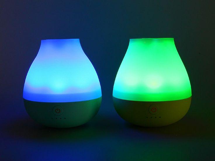Powerbank - Tumbler, mobiler Akku der leuchtet mit Farbwechsel