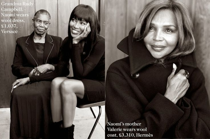 Naomi Campbell's mom refuses to age