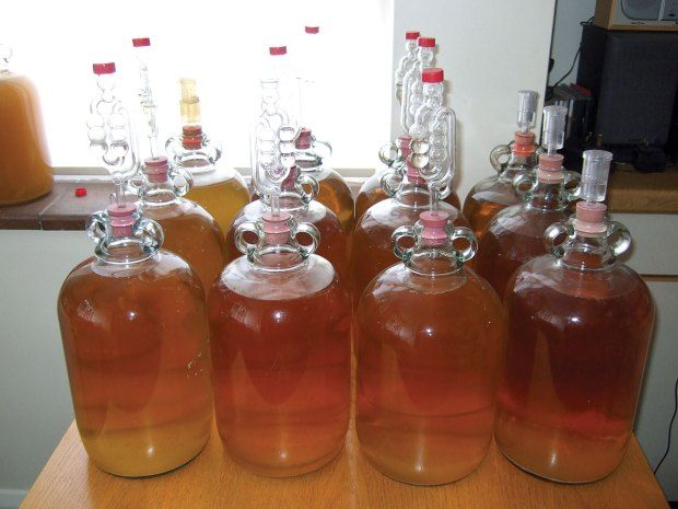 how to make home brew cider clear