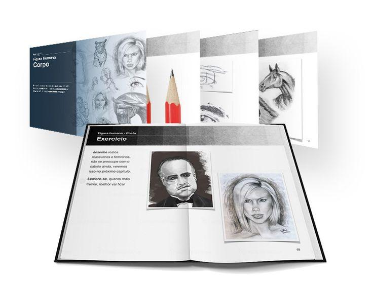 E Book Curso Básico de Desenho Artístico com Ivan Querino