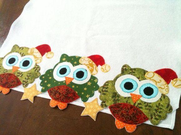Pano de copa Natal, barra toda recortada. Tecido 100% algodão. As cores do tecido podem alterar de acordo com a disponibilidade. R$ 29,90