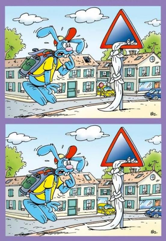 Link with images to find the difference and it gives you the solved image too very fun!!!  Rabbit goes to school game