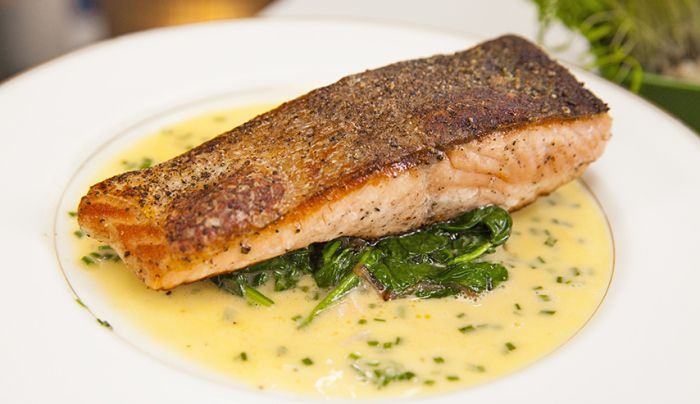 53 best adrian richardson bad chef images on pinterest cooking grilled salmon with lemon herb butter sauce forumfinder Images