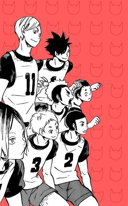 Nekoma/Kuroo,Lev,Kenma, Yaku,Yamamoto,Fukunaga, Kai/Haikyuu!!