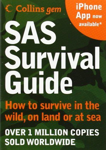 SAS Survival Guide: How to survive in the Wild, on Land or Sea (Collins Gem) by John 'Lofty' Wiseman http://www.amazon.co.uk/dp/0007320817/ref=cm_sw_r_pi_dp_bHFxvb0YMQ219