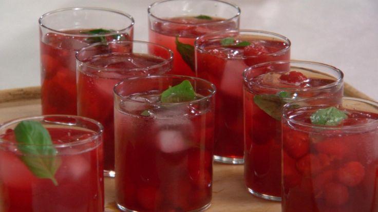 Martha Stewart's Sour Cherry Mojito Recipe Videos | Cherries How to's and ideas | Martha Stewart