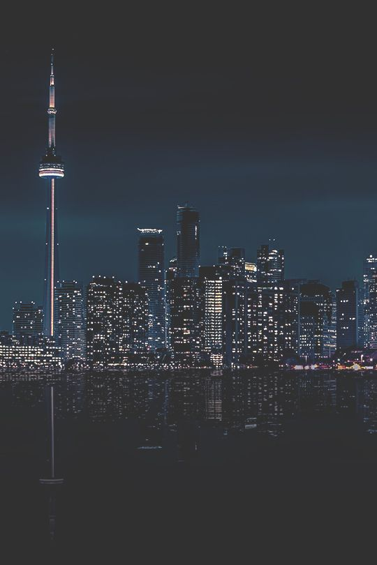 modernambition:  Toronto at Night | MDRNA | Instagram